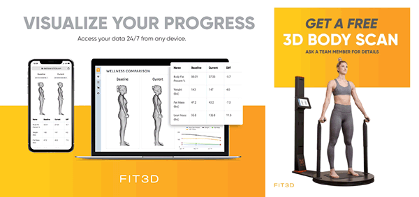 3D Visualize 3D Body Scan